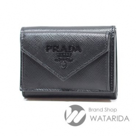 【New arrivals】プラダ レターコンパクトウォレット