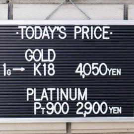 2019年11月25日 金・プラチナ買取価格