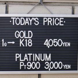 2019年11月24日 金・プラチナ買取価格
