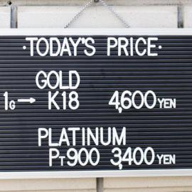 2020年2月21日 金・プラチナ買取価格