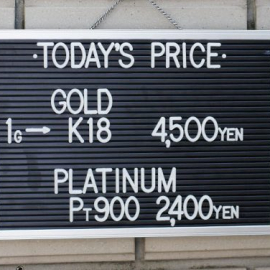 2020年3月26日 金・プラチナ買取価格