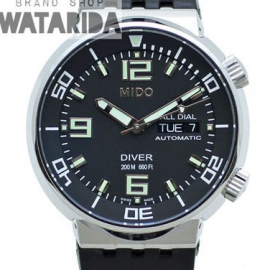 【New arrivals】ミドー ダイバー 200m AT デイト(All Dial Diver Automatic)