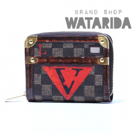 【New Arrivals】ルイヴィトン ジッピー・コインパース トランクタイム