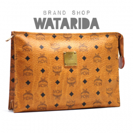 【New Arrivals】MCM レザークラッチバッグ