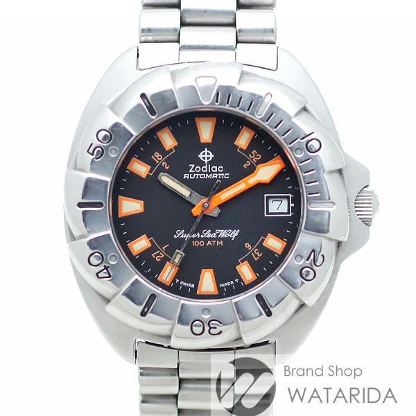 川崎の質屋【渡田質店】ゾディアック 腕時計 ヴィンテージ スーパーシーウルフ 1000m 506.54.44 SS 箱・保付 【送料無料】のご紹介です。