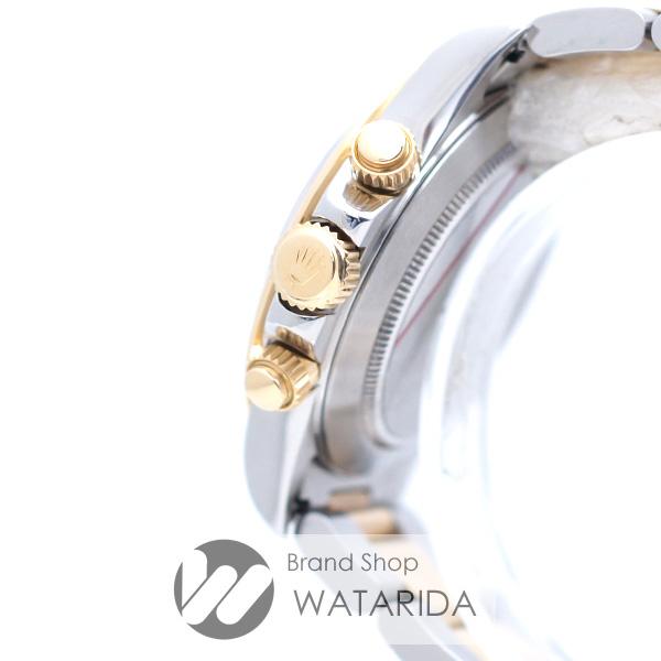 川崎の質屋【渡田質店】 ロレックス 腕時計 コスモグラフ デイトナ Ref.16523 L番 オールトリチウム シングルバックル 逆6 黒文字盤 SS YG 箱・保付 【送料無料】のご紹介です。
