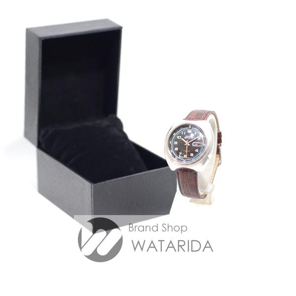 川崎の質屋【渡田質店】セイコー 腕時計 ヴィンテージ 5スポーツ 7019-6040 数字インデックス SS AT 社外革ベルト 【送料無料】のご紹介です。