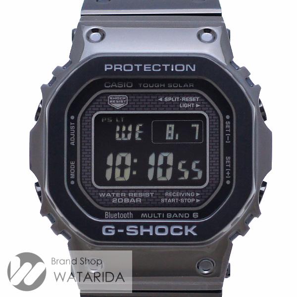 川崎の質屋【渡田質店】カシオ 腕時計 G-SHOCK GMW-B5000GD-1JF SS フルメタル ブラック 箱・説明書付 未使用品 【送料無料】のご紹介です。