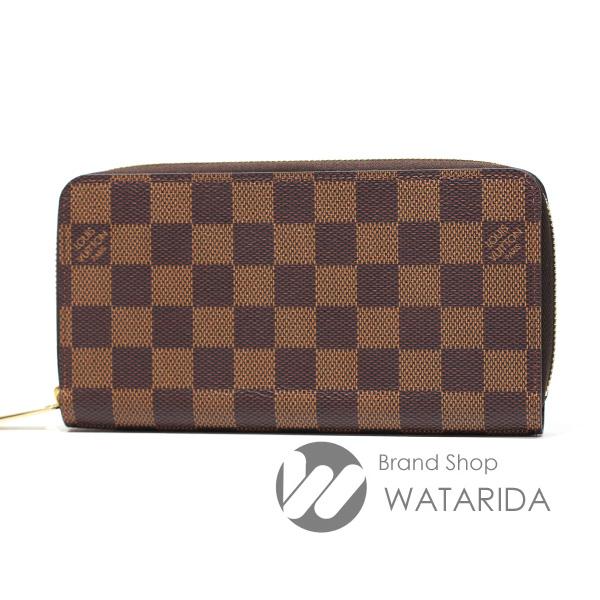 川崎の質屋【渡田質店】ルイヴィトン 財布 ジッピー・ウォレット N41661 新型 ダミエ 箱・保存袋付のご紹介です。