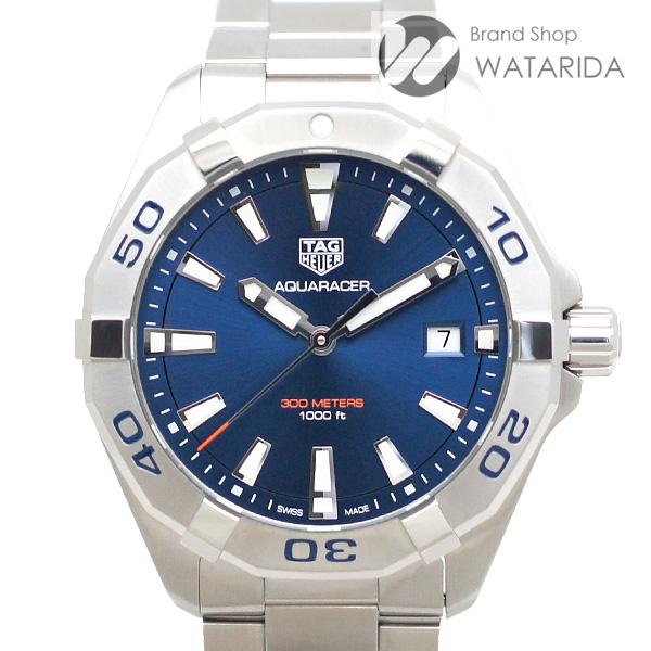 川崎の質屋【渡田質店】タグホイヤー 腕時計 アクアレーサー WBD1112.BA0928 SS Qz 青文字盤 箱・保付 【送料無料】 のご紹介です。