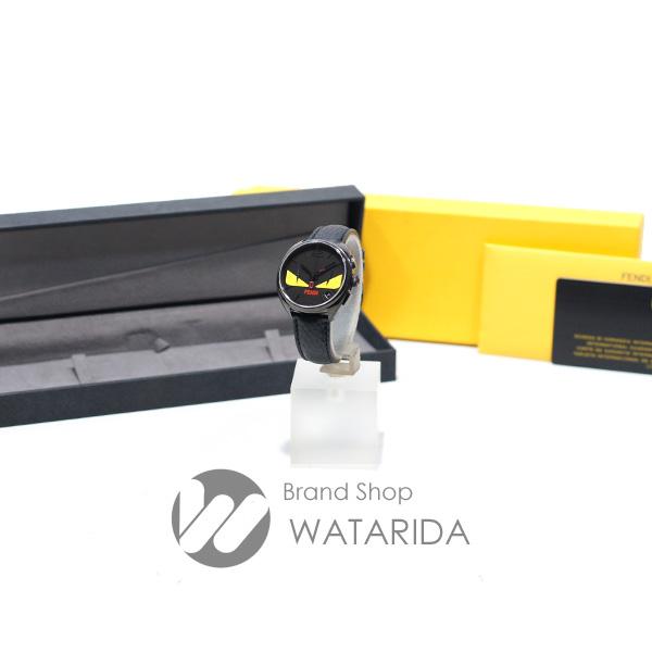 川崎の質屋【渡田質店】フェンディ 腕時計 モメント フェンディ バグズ FOR295QW5F0QT6 Qz ブラック SS 革ベルト 箱・保付 【送料無料】のご紹介です。