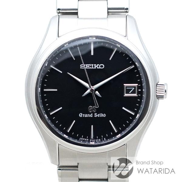 川崎の質屋【渡田質店】セイコー 腕時計 グランドセイコー SBGX041 9F62-0A10 SS 黒文字盤 箱・保付 【送料無料】のご紹介です。