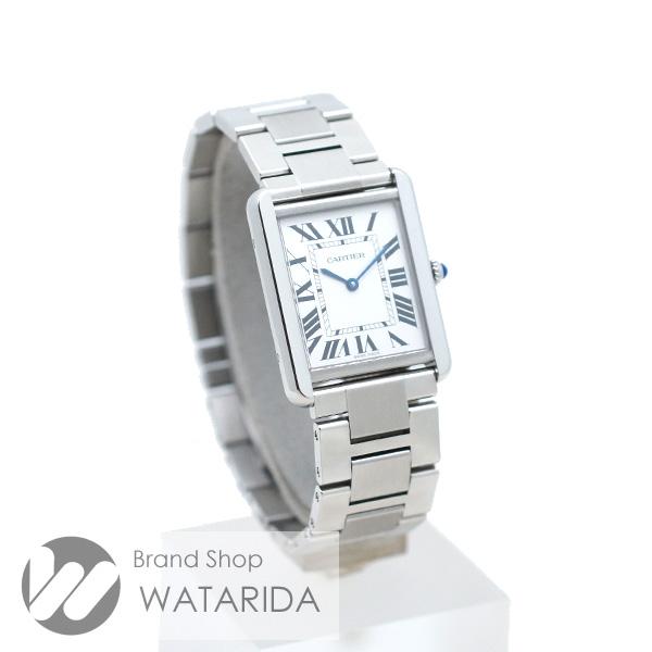 川崎の質屋【渡田質店】カルティエ 腕時計 タンクソロ LM 3169 W5200014 メンズ SS Qz シルバー文字盤 【送料無料】のご紹介です。