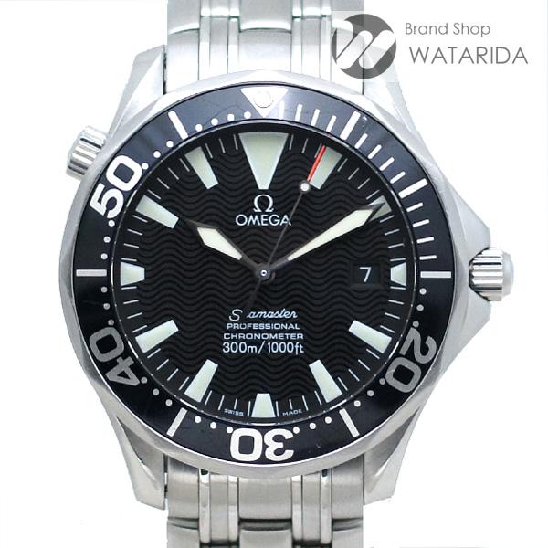 川崎の質屋【渡田質店】オメガ 腕時計 シーマスター プロフェッショナル 300m クロノメーター 2054.50 AT SS 黒文字盤 箱・保付【送料無料】のご紹介です。