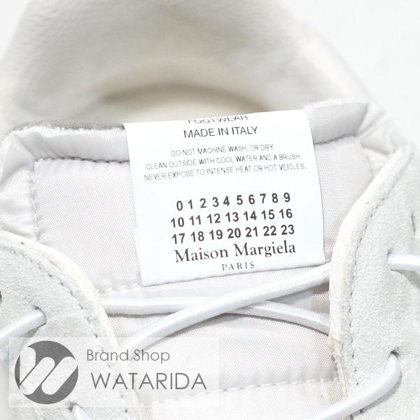 川崎の質屋【渡田質店】メゾン マルジェラ スニーカー S37WS0480 P2422 H1811 表記サイズ:40 国内サイズ:約25~26cm アイボリー ホワイト 箱・袋付 【送料無料】のご紹介です。