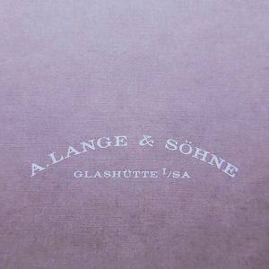 ランゲ&ゾーネ ランゲ1 101.0323