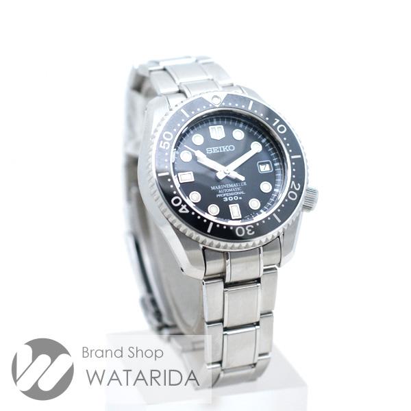 川崎の質屋【渡田質店】セイコー 腕時計 プロスペックス マリンマスター SBDX001 8L35-0010 SS 黒文字盤 箱・替えベルト付【送料無料】のご紹介です。