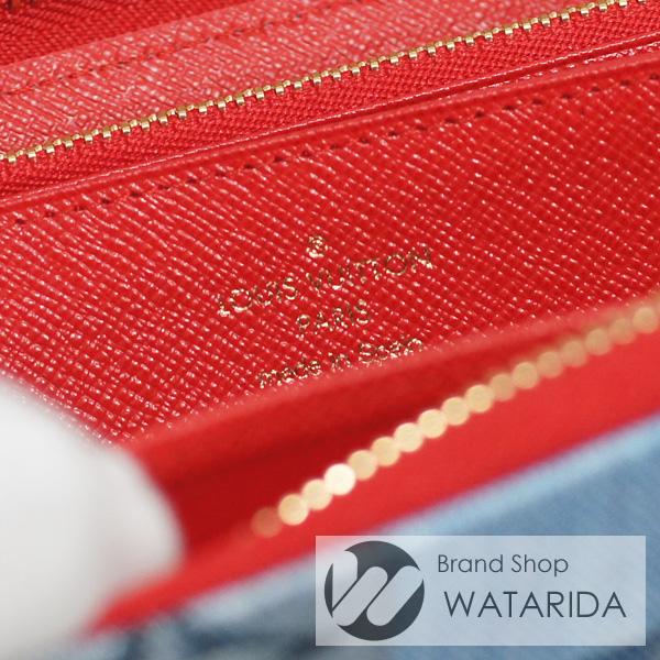 川崎の質屋【渡田質店】ルイヴィトン 財布 ジッピー・ウォレット M44938 デニム・モノグラム 2020SS 箱・袋付 未使用品【送料無料】のご紹介です。