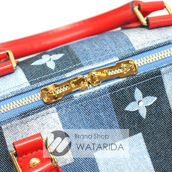 川崎の質屋【渡田質店】ルイヴィトン バッグ スピーディ・バンドリエール30 M45041 デニム・モノグラム 箱・袋付 2020年製造 2020SS 未使用品 のご紹介です。
