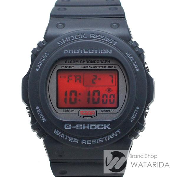 川崎の質屋【渡田質店】カシオ 腕時計 G-SHOCK DW-5700ML-1JF 20周年記念モデル スティング ブラック ラバー 箱・保付 未使用品【送料無料】のご紹介です。