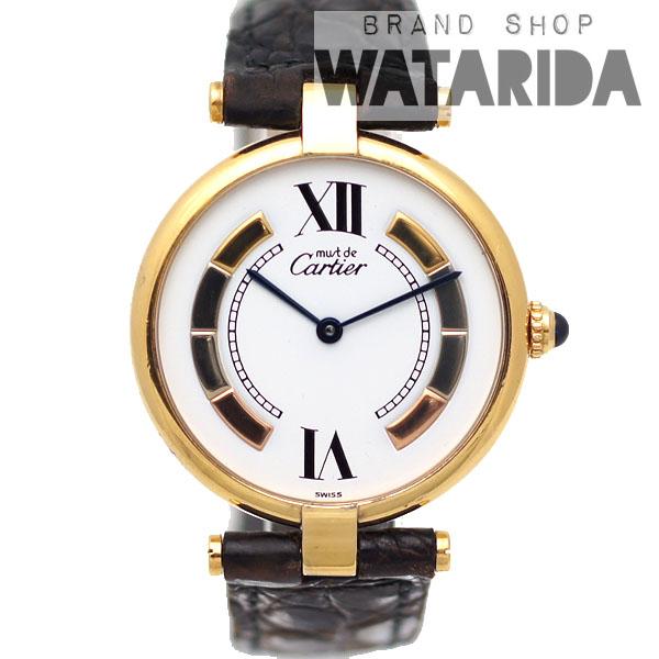 川崎の質屋【渡田質店】カルティエ 腕時計 ヴィンテージ マストVLC(ヴァンドーム) 電池交換・点検済 【送料無料】のご紹介です。