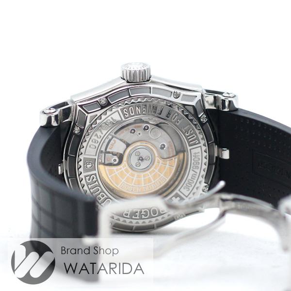 川崎の質屋【渡田質店】ロジェ・デュブイ 腕時計 イージーダイバー SE43 14 910 WG SS シルバー文字盤 内箱・保証書付 【送料無料】のご紹介です。