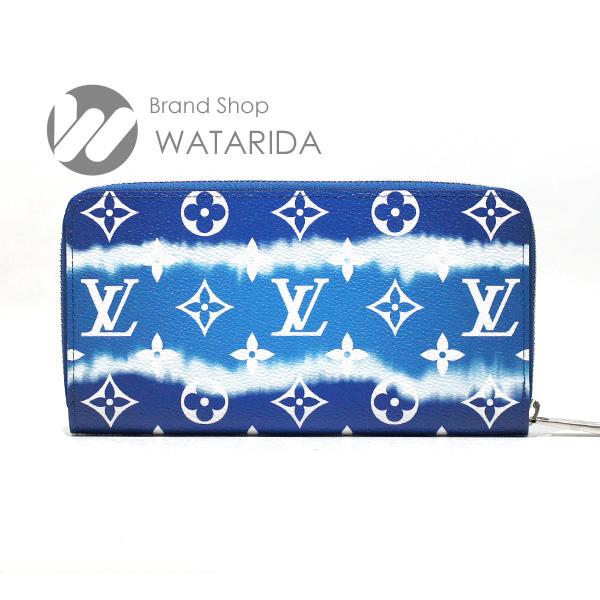 川崎の質屋【渡田質店】ルイヴィトン 財布 ジッピー・ウォレット M68841 LVエスカル ジャイアント・モノグラム ブルー 箱・袋付 2020SS 未使用品 【送料無料】のご紹介です。
