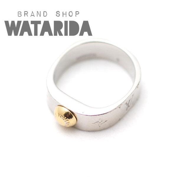 川崎の質屋【渡田質店】ルイヴィトン 指輪 ナノグラム パラジウムリング S 10号 M00216 750YGのご紹介です。