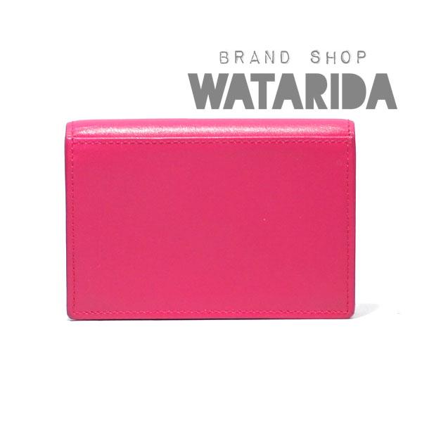 川崎の質屋【渡田質店】 サンローラン レザー カードケース 360433 ピンク 保存袋・ショップカード付 【送料無料】のご紹介です。