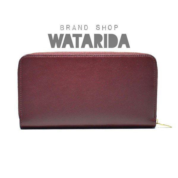 川崎の質屋【渡田質店】カルティエ 財布 ラウンドジップ インターナショナルワレット CRL3001490 ボルドー 箱・袋付 のご紹介です。