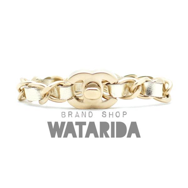 川崎の質屋【渡田質店】シャネル ブレスレット ココマークターンロックチェーンブレスレット 艶消しゴールド 2016年  のご紹介です。