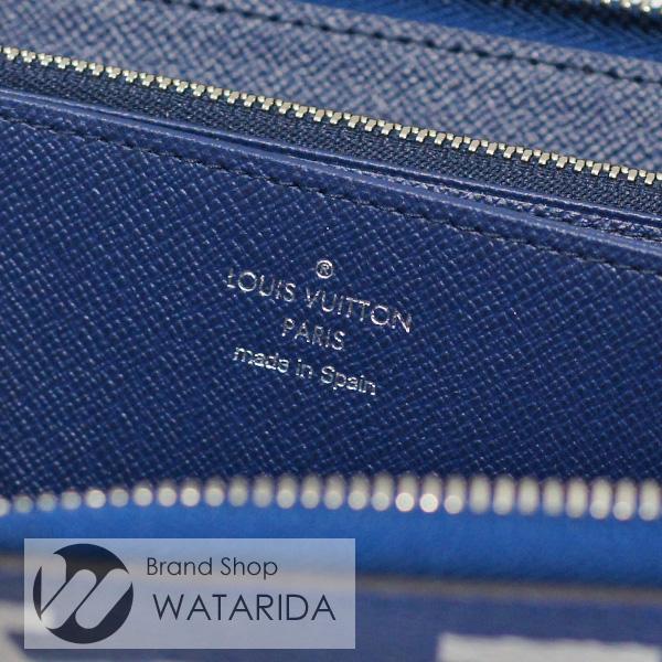 川崎の質屋【渡田質店】ルイヴィトン 財布 ジッピー・ウォレット M68841 LVエスカル ブルー ジャイアント・モノグラム 箱・袋付 2020SS 未使用品 【送料無料】のご紹介です。