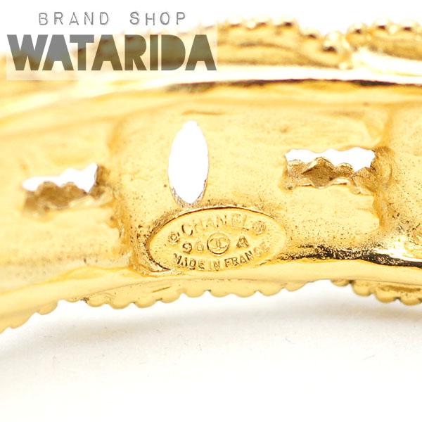 川崎の質屋【渡田質店】シャネル ブレスレット ヴィンテージ ココマーク GP 箱付 【送料無料】のご紹介です。