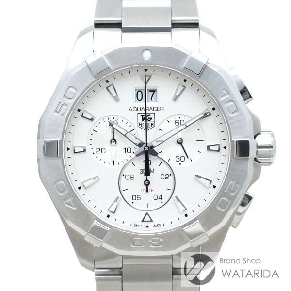 川崎の質屋【渡田質店】タグホイヤー 腕時計 アクアレーサー クロノグラフ 300m CAY1111.BA0927 CAY1111-0 Qz SS シルバー文字盤 箱付 【送料無料】のご紹介です。