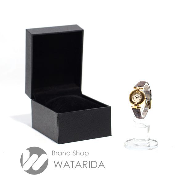 川崎の質屋【渡田質店】カルティエ 腕時計 ヴィンテージ マストコリゼ 社外ベルト SV925 GP アイボリー文字盤 Qz 【送料無料】 のご紹介です。