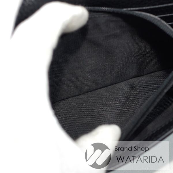 川崎の質店【渡田質店】 グッチ 財布 ロングレザーウォレット 481727 ブラック 箱・保存袋付 【送料無料】のご紹介です。