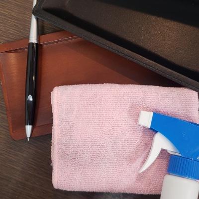 川崎の質屋【渡田質店】お客様の手が触れる箇所はウイルス除菌剤で消毒しております