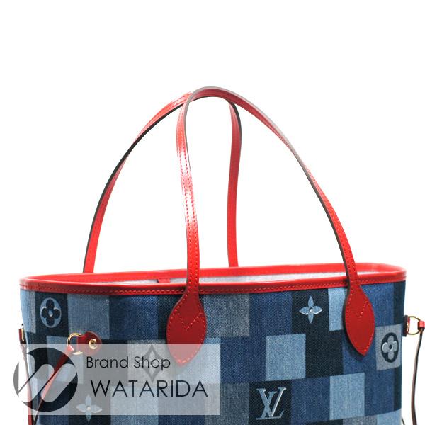川崎の質屋【渡田質店】ルイヴィトン バッグ ネヴァーフルMM M44981 デニム・モノグラム 2020SS 箱・袋付 未使用品 【送料無料】のご紹介です。