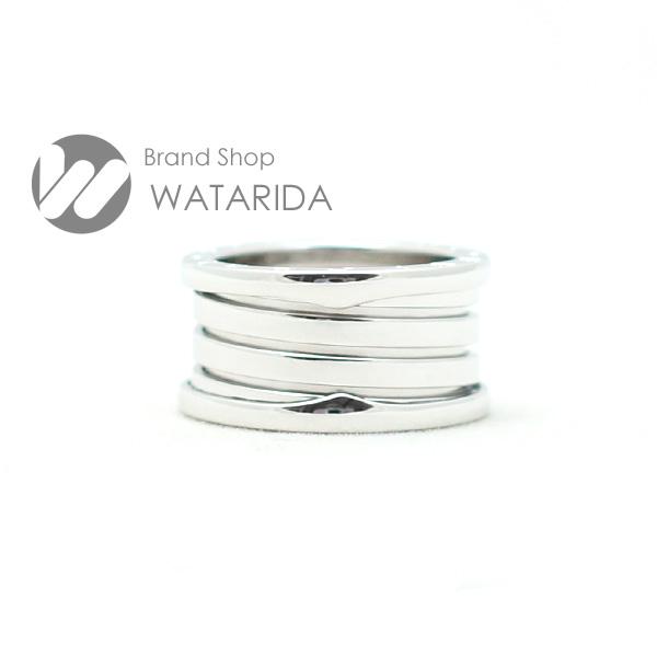 川崎の質屋【渡田質店】ブルガリ 指輪 B-Zero1 Mサイズ 4バンド K18WG #54 国内サイズ:13~14号 【送料無料】のご紹介です。