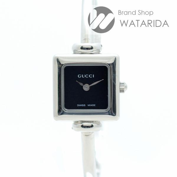 川崎の質屋【渡田質店】グッチ 腕時計 1900L SS Qz 黒文字盤 内箱・保付 【送料無料】のご紹介です。