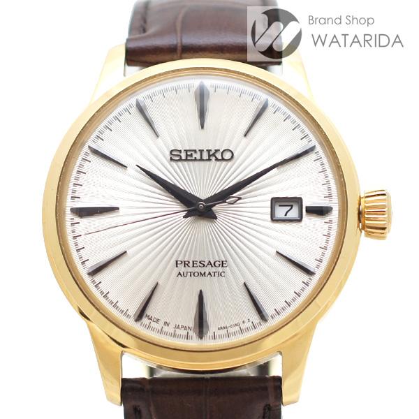 川崎の質屋【渡田質店】セイコー 腕時計 プレザージュ 4R35-01T0 SARY126 SS シルバー文字盤 革ベルト 【送料無料】のご紹介です。