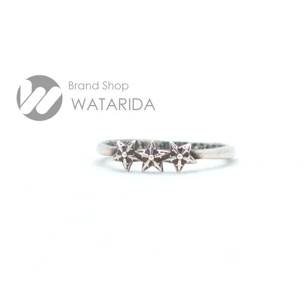 川崎の質屋【渡田質店】クロムハーツ 指輪 バブルガムリング 3スター SV925 国内サイズ約10号 インヴォイス・ポリッシュクロス付 【送料無料】のご紹介です。