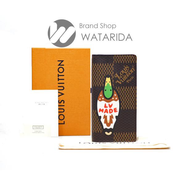 川崎の質屋【渡田質店】ルイヴィトン 財布 ポルトフォイユ・ブラザ N60393 LVスクエアード NIGO 箱・保存袋付 【送料無料】のご紹介です。