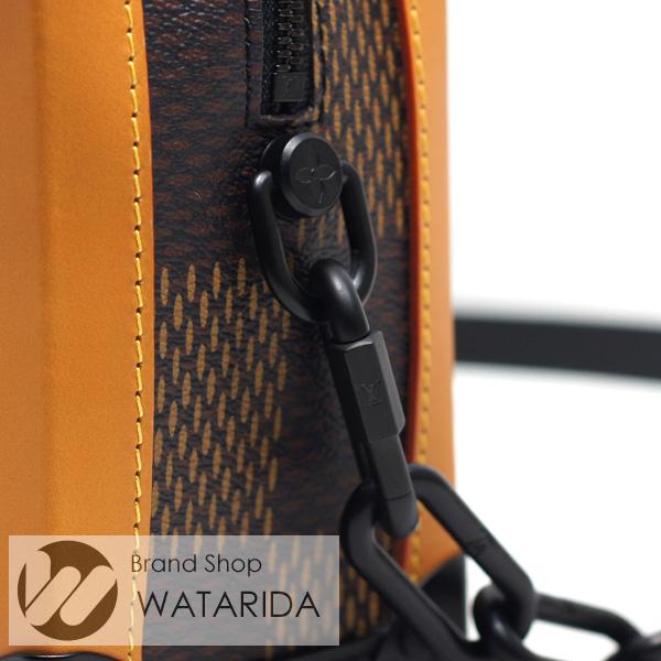 川崎の質屋【渡田質店】ルイヴィトン バッグ ソフトトランク N40381 LVスクエアード NIGO 箱・保袋付 未使用品 【送料無料】のご紹介です。