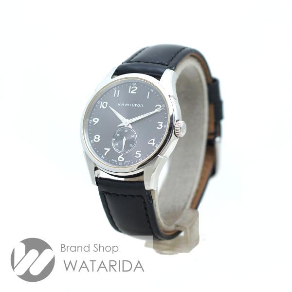 川崎の質屋【渡田質店】ハミルトン 腕時計 ジャズマスター H384110 Qz SS グレー文字盤 社外ベルト 【送料無料】 のご紹介です。