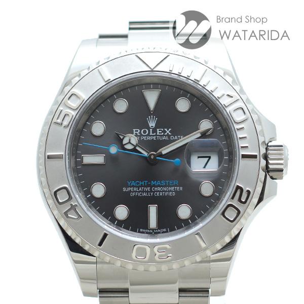 川崎の質屋【渡田質店】ロレックス 腕時計 ヨットマスター 40 Ref.116622 ダークロジウム SS プラチナ 箱・保付 【送料無料】のご紹介です。