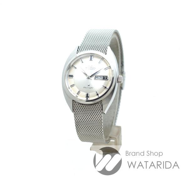 川崎の質屋【渡田質店】テクノス 腕時計 アンティーク スカイライト デイデイト Skylight シルバー文字盤 【送料無料】のご紹介です。