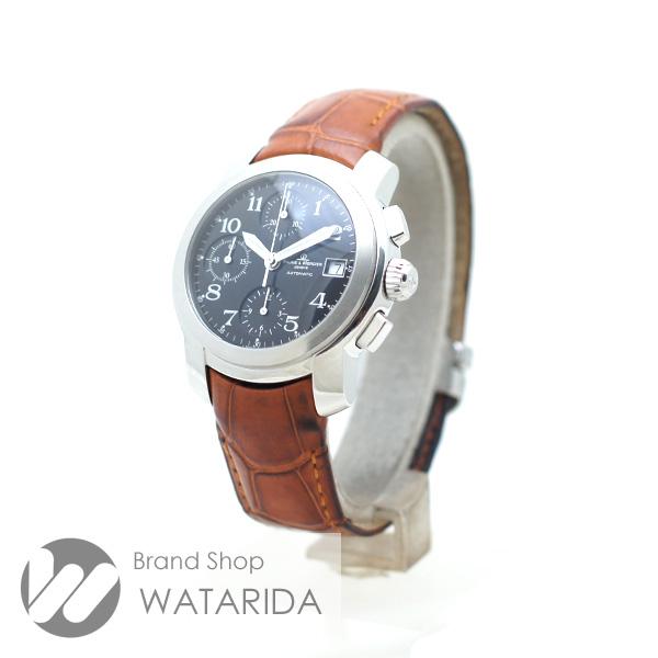 川崎の質屋【渡田質店】ボーム&メルシエ 腕時計 ケープランド クロノグラフ MV045216 SS 黒文字盤 【送料無料】のご紹介です。