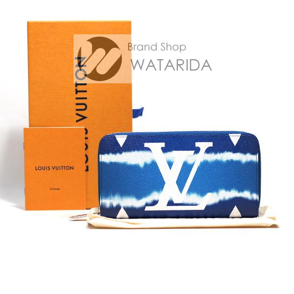 川崎の質屋【渡田質店】ルイヴィトン 財布 ジッピー・ウォレット M68841 LVエスカル ブルー ジャイア ント・モノグラム 箱・袋付 2020SS 未使用品 【送料無料】のご紹介です。