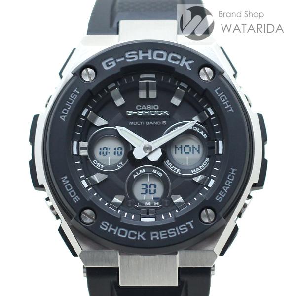 川崎の質屋【渡田質店】カシオ 腕時計 G-STEEL GST-W300-1AJF SS 黒文字盤 説明書 【送料無料】 【送料無料】のご紹介です。
